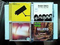 6 Music CDs for sale : The Feeling - Razorlight - HardFi - Kaiser Chiefs - Kings of Leon - Killers