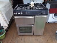 NEW WORLD DUEL FUEL 5 BURNER COOKER