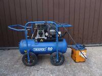 Portable Draper Air Compressor - 110v with Transformer