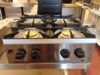 Cooker Table Top Nat Gas (Brand New) 4 Burner