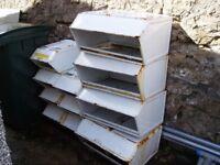 Steel Storage Bins Free for Pick up