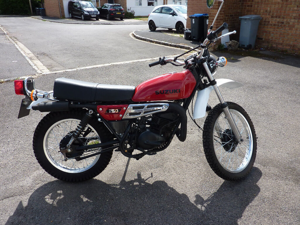 Suzuki Trail Bikes Classic Stroke Bike In Eynsham Oxfordshire 1024x768
