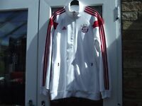 BAYERN MUNICH MUNCHEN GERMANY TRAINING FOOTBALL JACKET ADIDAS
