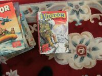 22 Victor comic annuals all in good condition from 1967-1991 (missing 1988/89)