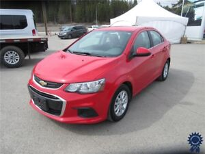 "2017 Chevrolet Sonic LT 5 Passenger, Remote Start, 15"" Wheels"