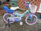 DISNEY FROZEN STRONG HEART STRONG BOND GIRLS BIKE