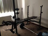 Weights bench GOOD CONDITION