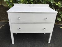 2 Drawer Chest Of Drawers .