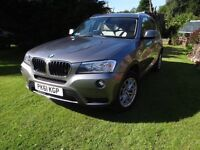 BMW X3 20d X Drive 2011 Automatic. Leather interior