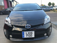 2015 TOYOTA PRIUS 1.8 HYBRID FRESHLY IMPORTED (BIMTA CERTIFIED MILEAGE).READY FOR PCO