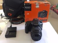 Sony SLT - A58 + 18-55mm Zoom Lens