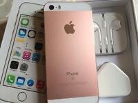 Iphone 5s 16gb metallic rose gold and white (t-mobile orange virgin EE )