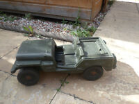 VINTAGE ACTION MAN JEEP