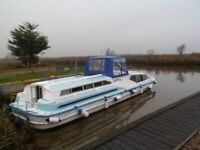 42ft Boat and freehold mooring in Norfolk