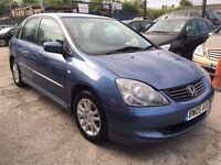 Honda Civic 1.6 i VTEC SE 5dr£1,245 . FREE WARRANTY & NEW MOT