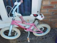 10 inch girls bike