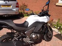 Kawasaki KLZ in immaculate condition with colour matched top box and genuine Kawasaki heated grips.