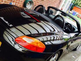 Porsche Boxster S Cobalt Black