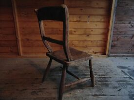 Elm bedroom dining chair