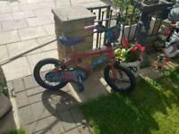 Spiderman childrens bike