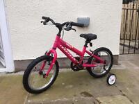 "Girls Mountain bike - Ridgeback Melody 16"" wheels"
