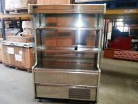 Display fridge 6ftx 3ft approx suitable for sandwhiches or drinks