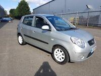 2010 Kia picanto, Silver, Auto, Very low mileage,