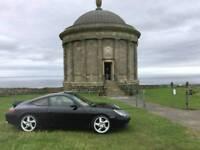 Porsche 911 996 C2 Black/Red