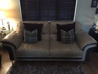 2 & 3 Seater Leather Couches