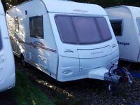2006 Coachman Pastiche 470 2 Berth End Washroom Caravan with Motor Mover and Caravan Cover