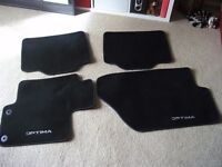 Genuine Kia Optima car mats as new only used for 3days
