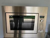 ELECTROLUX built in microwave