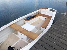 Launch work boat inboard diesel fishing river launch