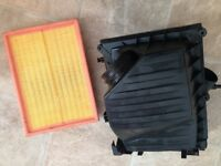 Corsa c 1.7di air box inc new filter