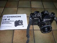 Chinon CE 4 with instruction manual,