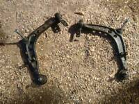 Pair of new bmw e36 3 series front lower control arms and bushes suspension and drop links