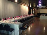 SMALL BANQUET HALL AVAILABLE FOR ANY EVENT