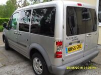 Left hand drive ford connect 5 seats