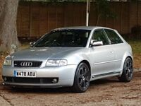 Audi S3 Quattro (225) Turbo (2000/W Reg) + GENUINE 119K + XENONS + RECARO LEATHER + WINTER PACK +4X4