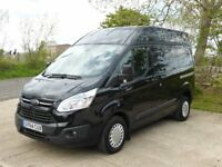 2014 FORD TRANSIT CUSTOM TREND VAN 2.2 TDCI 125 BHP 290 L1 H2 HIGH ROOF AIR CON 22750 MILES