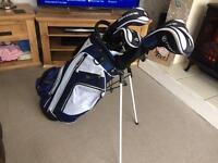 Full set of Fazer golf clubs