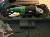 """HITACHI G23SR 9""""/230mm 2000W Angle Grinder 110V with Case and Disc"""