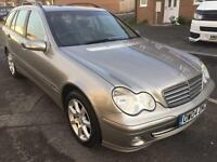 2004 MERCEDES C CLASSIC C220 CDI SE A 2.1 DIESEL ESTATE AUTOMATIC ONE KEEPER LONG MOT LEATHER SEATS*