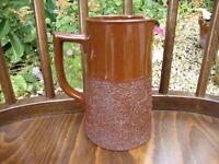 Gibson (Staffs England), brown cream water jug.