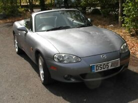 A delightful low ownership / mileage MX5 with comprehensive MoT history !
