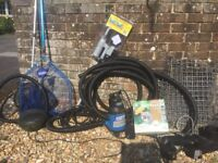 Pond Equipment for sale £75 the lot. Buyer collects
