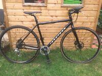 Ridgeback hybrid bike.