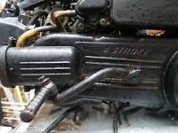 Peugeot speedfight engine 125 cc.