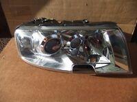 Skoda Superb Headlamp, 2002-08, offside,