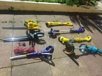 Joblot of Trimmers, Hedge Cutters, Strimmers Spares or Repair
